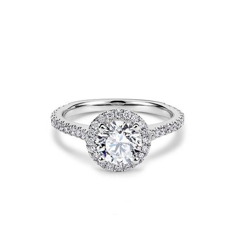 Halo Aphrodite Engagement Ring