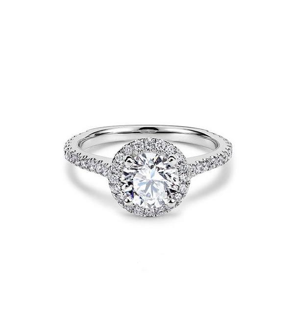 best engagement rings: 77 Diamonds Halo Aphrodite Engagement Ring