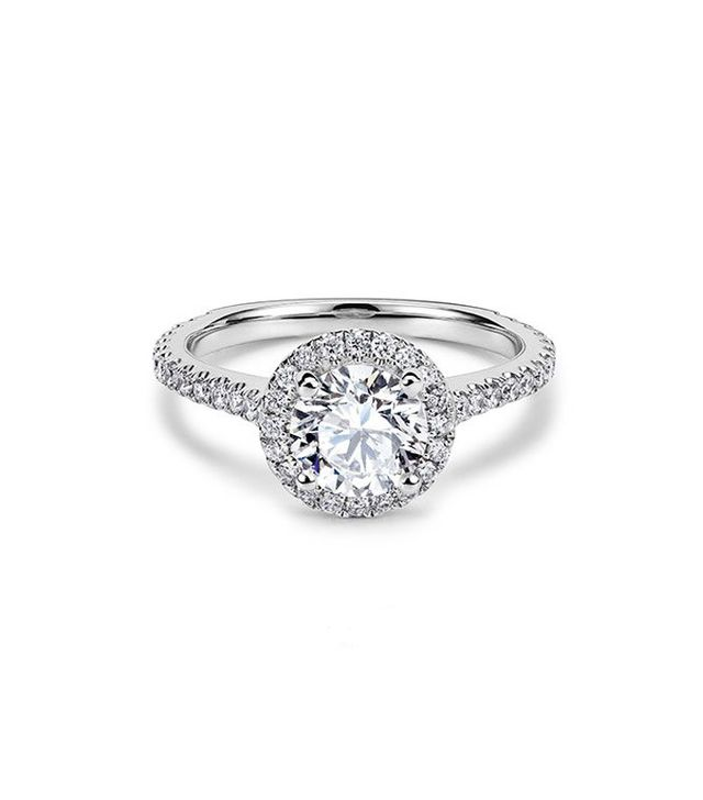 Best Engagement and Diamond Rings: 77 Diamonds Halo Aphrodite Engagement Ring