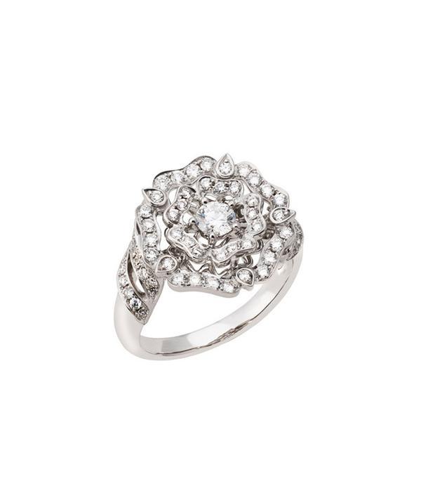 best engagement rings: Garrard Tudor Rose Ring