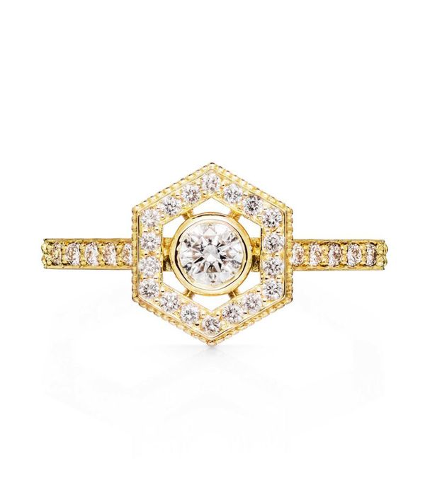 best engagement rings: Zoe and Morgan Aretha Engagement Ring