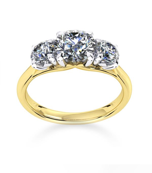The best engagement and diamond rings to suit every budget best engagement and diamond rings mappin webb ena harkness three stone yellow gold ring junglespirit Choice Image