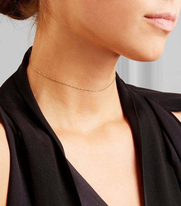 Aptly named the Sweet Nothing choker. Available on Net-a-PorterOctober 12.