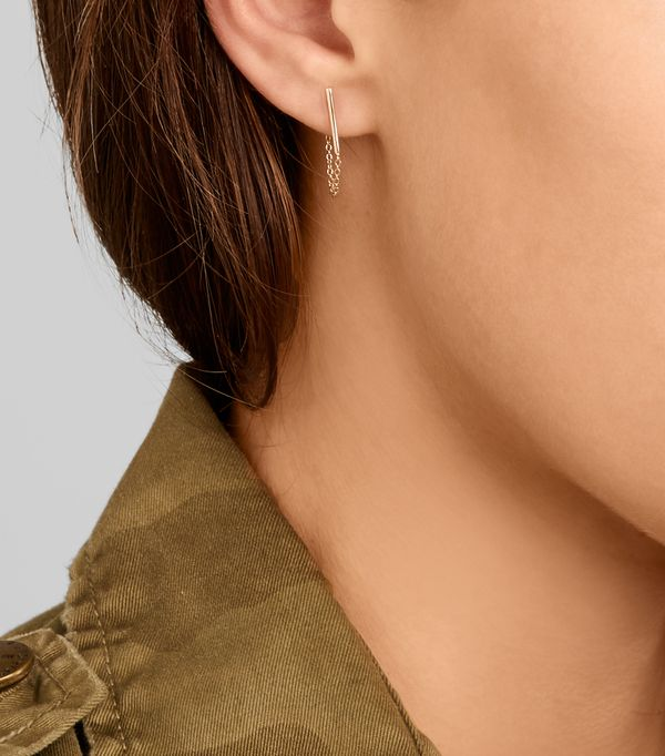 The chain detailing of Catbird's Ballerina earrings is a favorite of ours. Available on Net-a-PorterOctober 12.