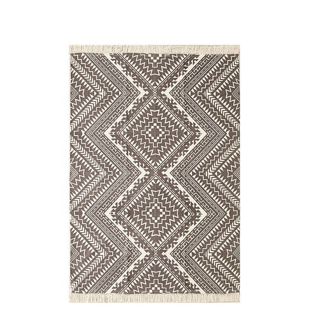 Diamond Printed Rug