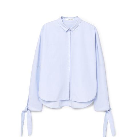 Bows Poplin Shirt