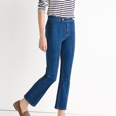 Pintuck Demi Boot Jeans