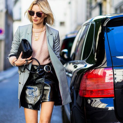 Street Style Stars Love Wearing This Miniskirt