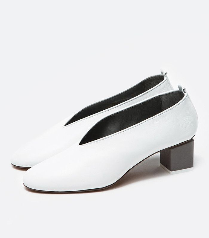 Gray Matters Mildred Pumps in White