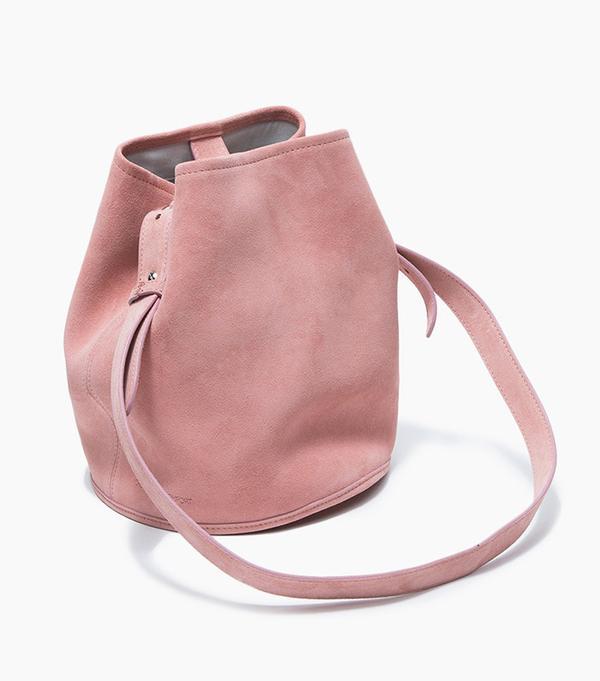Creatures Of Comfort Small Bucket Bag in Suede