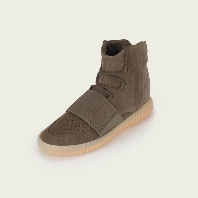 Kanye West x Adidas Yeezy Boost 750 Sneakers in Tan