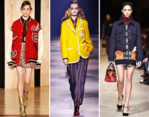 fall runway trend back to school