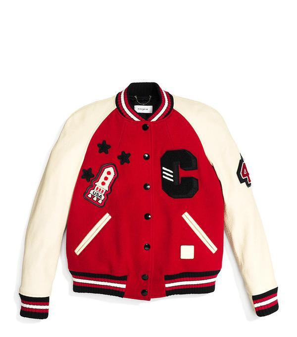 Coach Classic Varsity Jacket