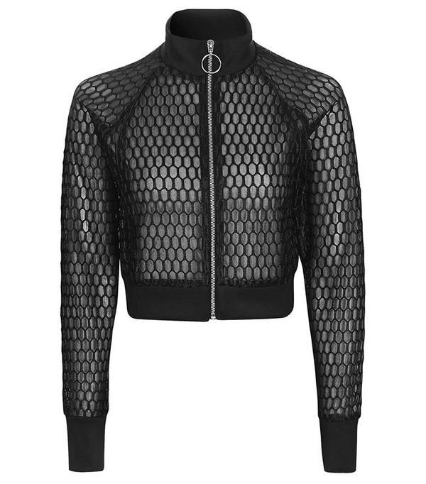 Topshop Reclaim to Wear Honeycomb Jacket