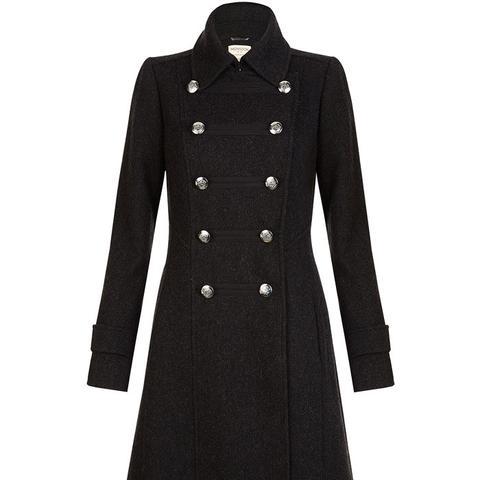 Adrianna Military Coat