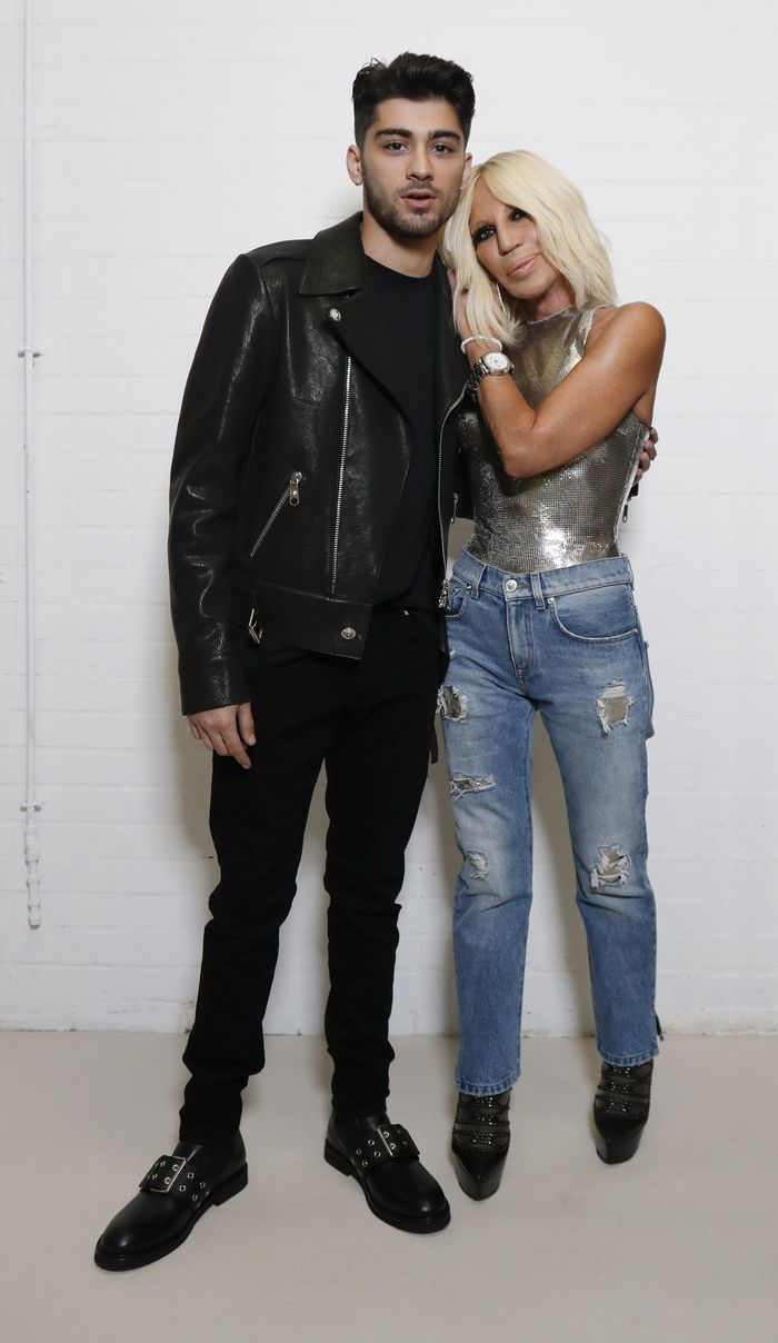 Zayn Malik will join Donatella Versace to design a collection for Versus Versace.