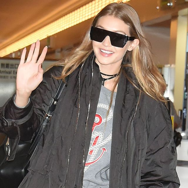 This Little Detail Makes Gigi Hadid's Airport Boots Stand Out