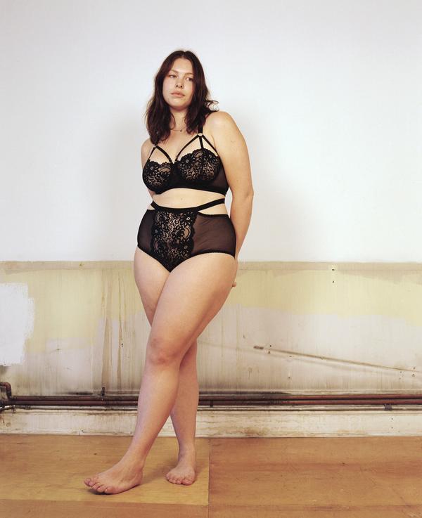 Pictured: Designer and model Georgia Pratt