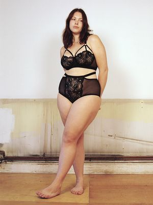 Everyone Should See This Unretouched Lingerie Campaign