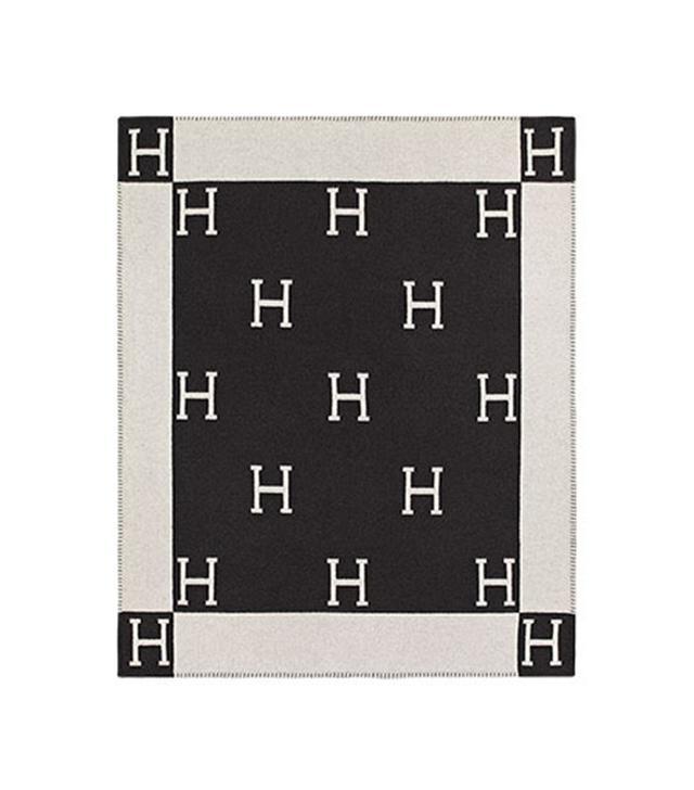 Hermès Avalon Cashmere Throw Blanket
