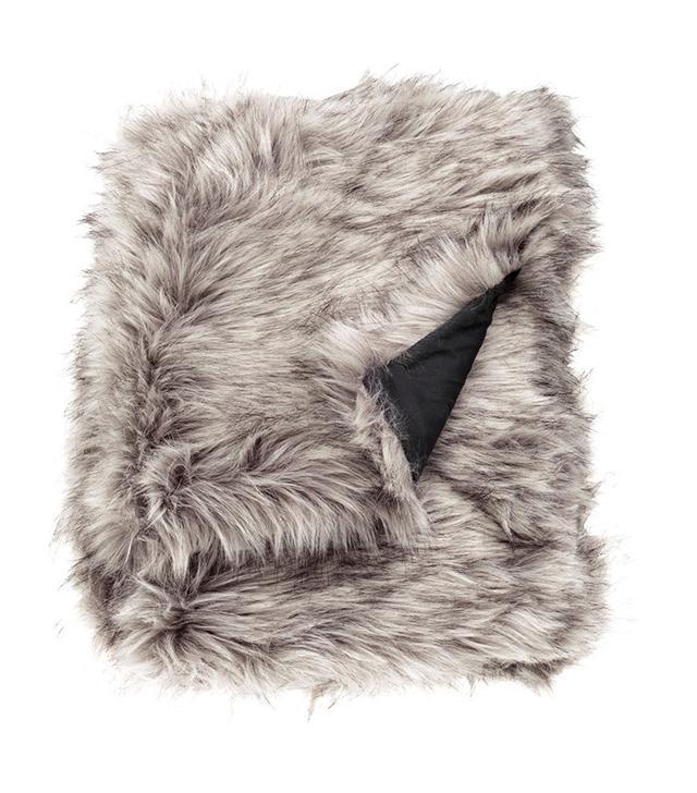 H&M Home Faux Fur Throw