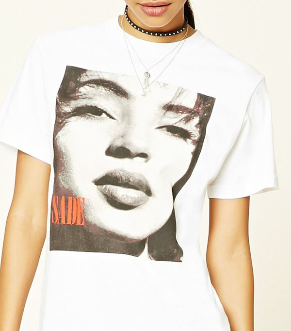 Forever 21 Sade Graphic Tee