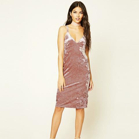 Contemporary Velvet Cami Dress