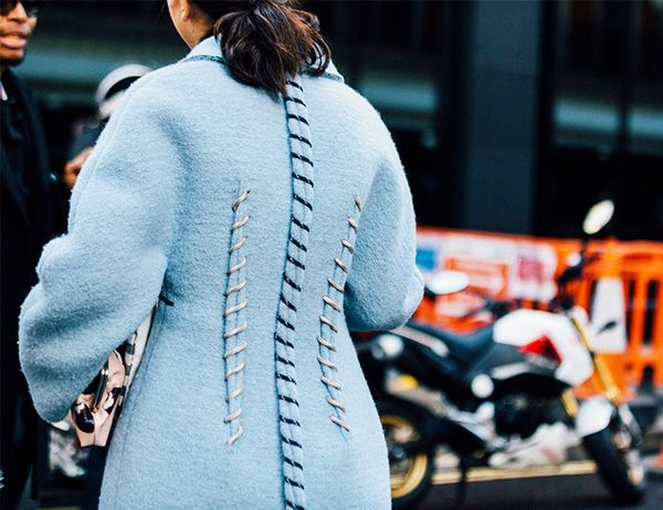 A coat worth doing a double take for.