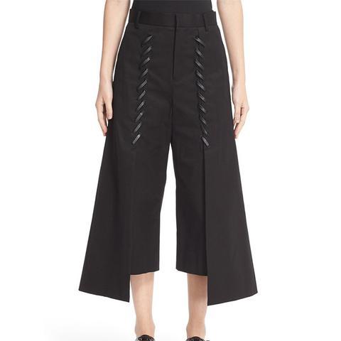 Whipstitch Crop Pants