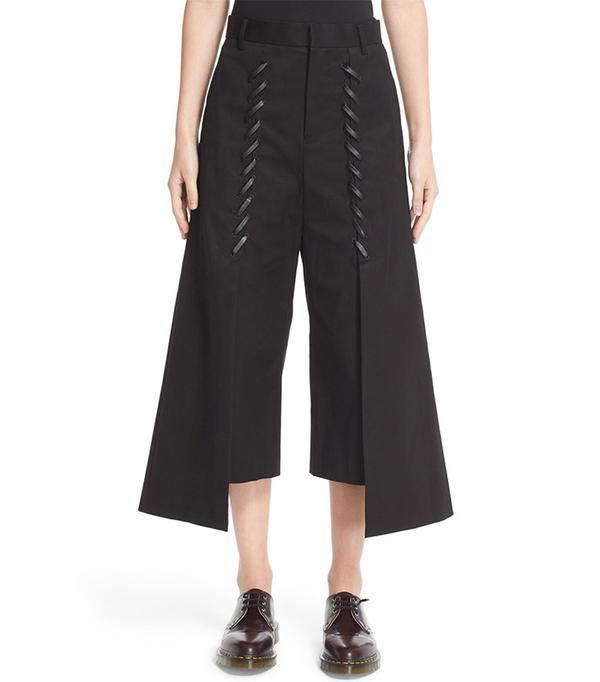 Noir Kei Ninomiya Whipstitch Crop Pants