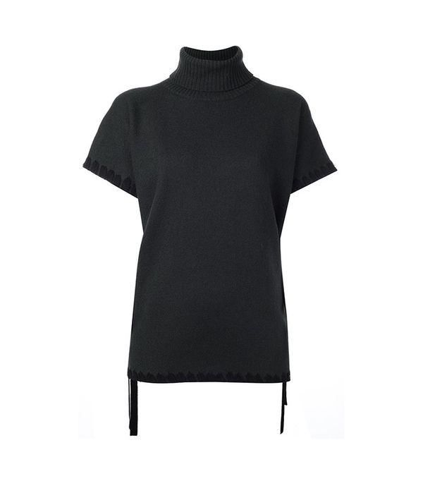 See by Chloé Whipstitch Detail Knotted Jumper