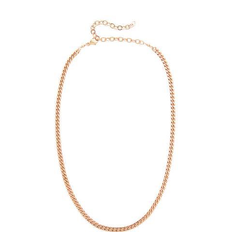 JA Flat Chain Necklace