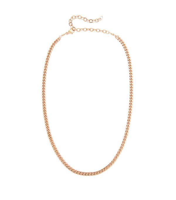 JA Flat Chain Necklace Jacquie Aiche