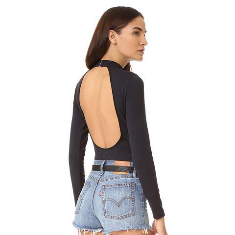 Cody Open Back Bodysuit