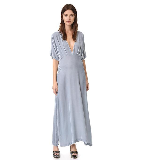 Hayden Velvet Dress Ganni
