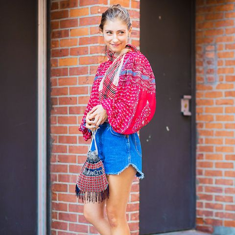 Petite style tips: volume must be balanced out