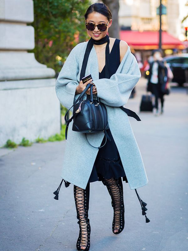 Petite style tips: seamless layering is a godsend