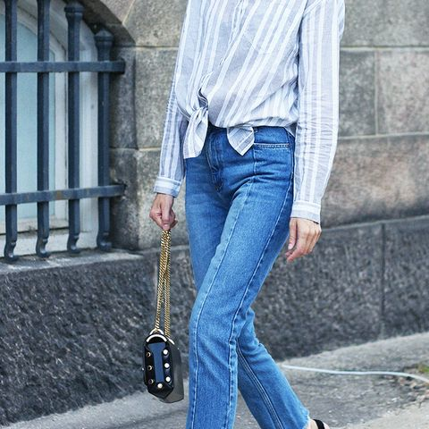 Petite style tips: V-neck shoes are a calf's dream