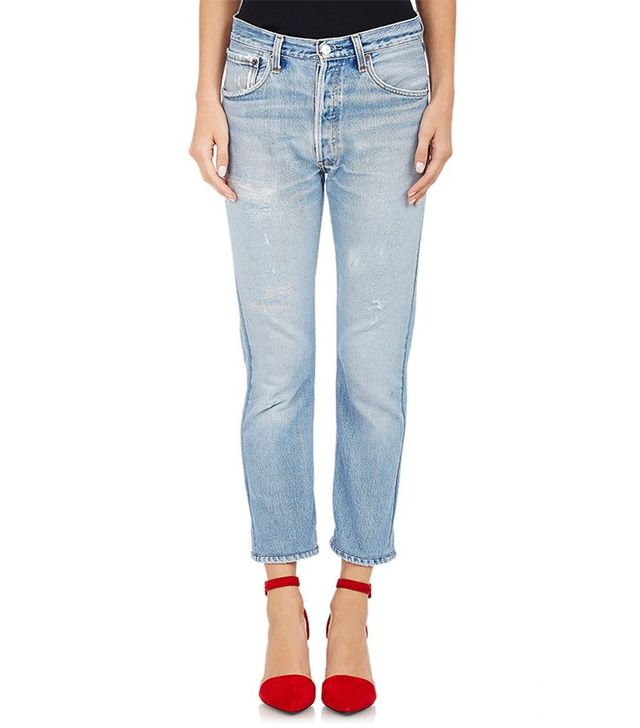 Re/Done x Levis Skinny Corp Jeans