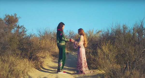 """The Video: """"American Money"""" by Børns This captivating visual montage evokes the feel of a video lookbook, with the crooner and his red-headed companion parading around in pieces from..."""