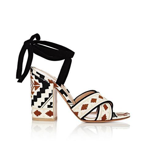 Cheyenne Ankle-Tie Sandals