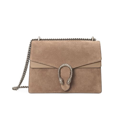 Dionysus Suede Shoulder Bag