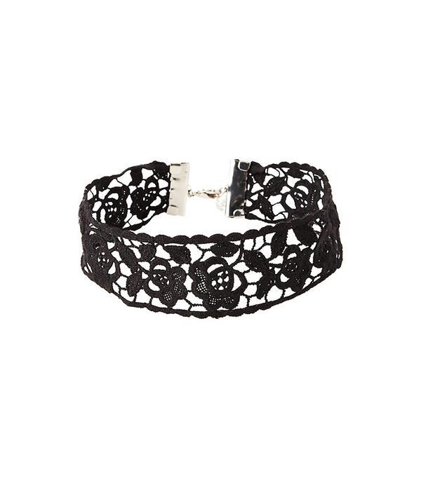 Express Flower Crochet Choker Necklace