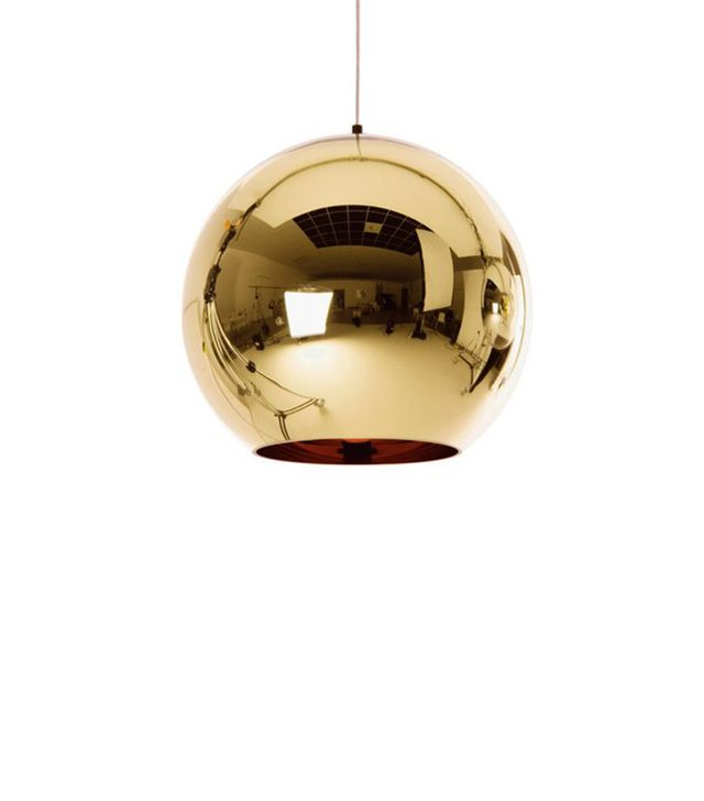 Tom Dixon Bronze Shade Pendant