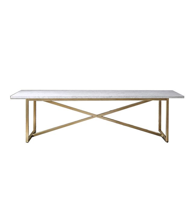 Restoration Hardware Torano Marble Table