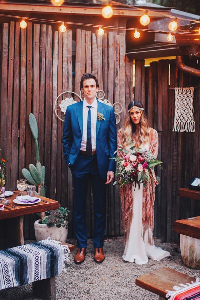 slip dress wedding gown