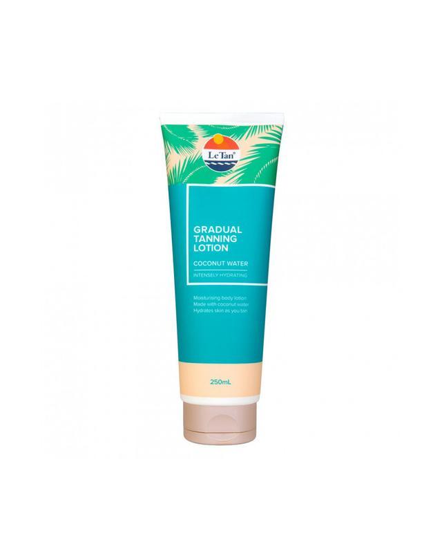 Le Tan Coconut Water Gradual Tanning Lotion