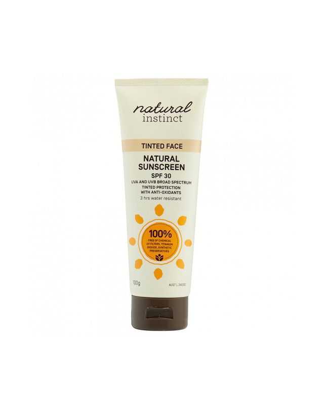 Natural Instinct Tinted Face Natural Sunscreen SPF30