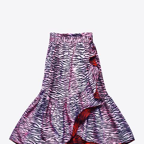Silk Blend Skirt
