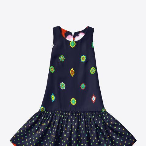 Silk Blended Dress
